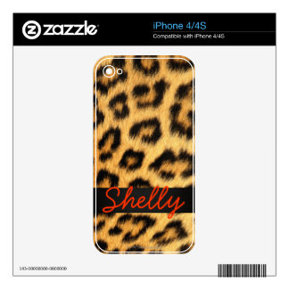Jaguar Fur iPhone Skin Skins For The iPhone 4