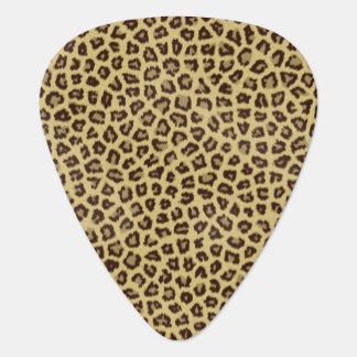 Jaguar Fur Pattern Guitar Pick