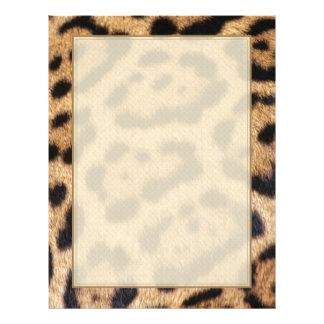 "Jaguar Fur Photo Print 8.5"" X 11"" Flyer"