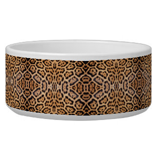 Jaguar Fur Photo Print Bowl
