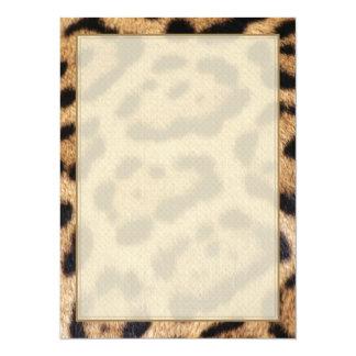 Jaguar Fur Photo Print Card