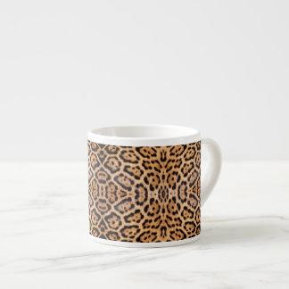 Jaguar Fur Photo Print Espresso Cup