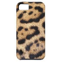 Jaguar Fur Photo Print iPhone SE/5/5s Case