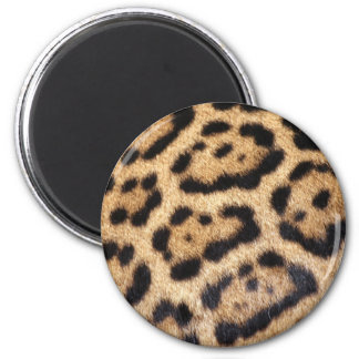 Jaguar Fur Photo Print Magnet