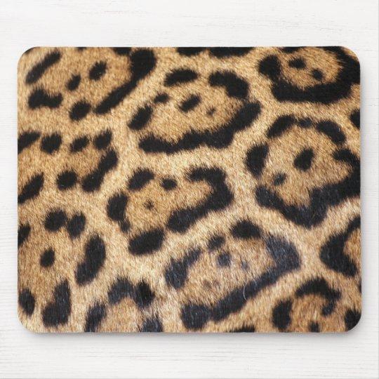 Jaguar Fur Photo Print Mouse Pad