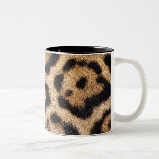 Jaguar Fur Photo Print Mug