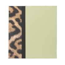 Jaguar Fur Photo Print Notepad