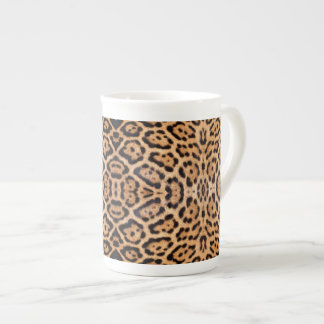 Jaguar Fur Photo Print Tea Cup