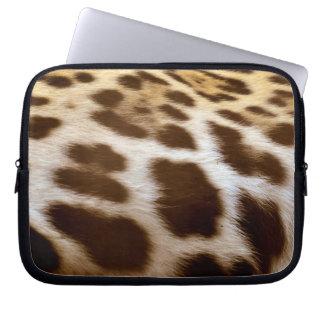 Jaguar Fur Photo Sample Big Cat Wildlife-lovers Laptop Sleeve