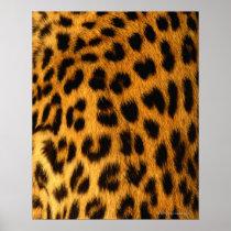 Jaguar Fur Poster
