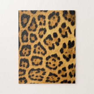 Jaguar Fur Print Puzzle