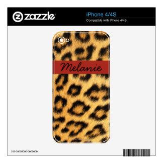 Jaguar Fur Decal For The iPhone 4