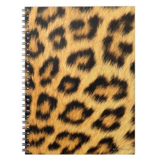 Jaguar Fur Spiral Notebook