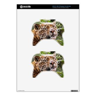 Jaguar Inquisitive Xbox 360 Controller Decal
