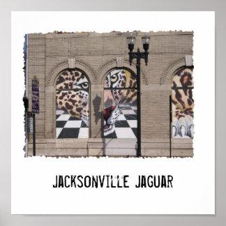 Jaguar, Jacksonville Jaguar Poster