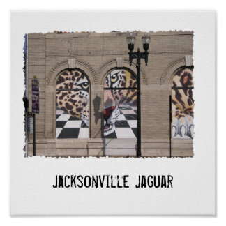 Jaguar Jacksonville Jaguar Poster