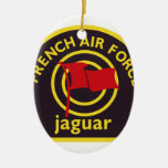 Jaguar Kampfflugzeug Abzeichen Ornamentos Para Reyes Magos