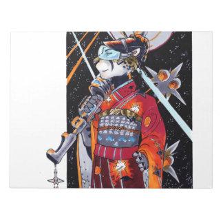 Jaguar Kimono Space Marine Large Unlined Notebook! Note Pad