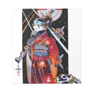 Jaguar Kimono Space Marine Mini Notebook! Notepad