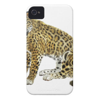 Jaguar Looking with Intent Case-Mate iPhone 4 Case