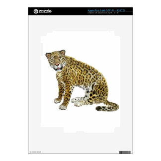 Jaguar Looking with Intent Decals For iPad 3