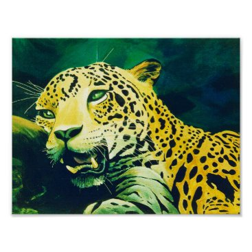 Jaguar Magic Poster