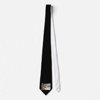 Jaguar manchado pintó imagen corbata personalizada