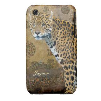 Jaguar manchado y caso del iPhone del iPhone 3 Cárcasas