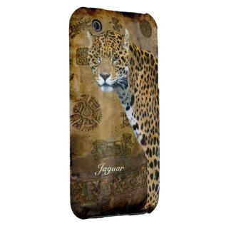 Jaguar manchado y caso del iPhone del iPhone 3 Protectores