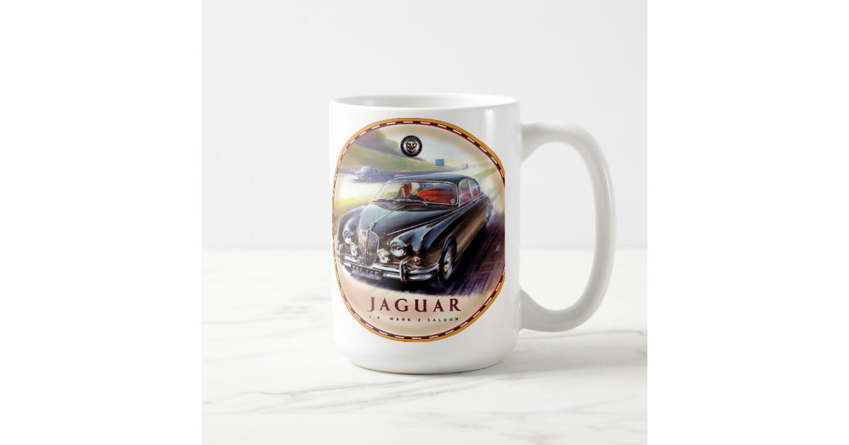 Jaguar Mark 2 Saloon Cars Coffee Mug Zazzle Com
