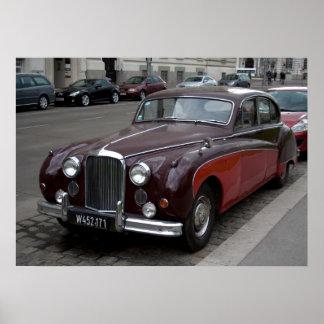 Jaguar Mark IX Poster
