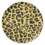 Jaguar melanine plate