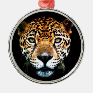 Jaguar Metal Ornament