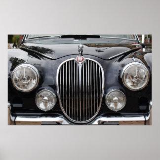 Jaguar mk 2 Poster
