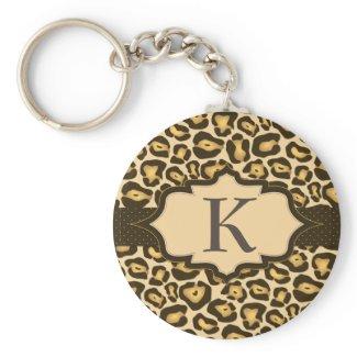Jaguar Monogram Ribbon Keychain keychain