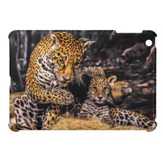Jaguar Mother & Cub iPad Case