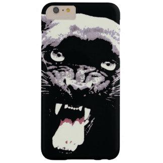 Jaguar negro y blanco observa el caso del iPhone 6 Funda Para iPhone 6 Plus Barely There
