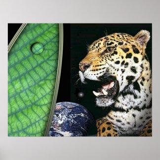 jaguar of the earth poster