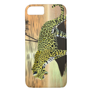 Jaguar on the Prowl iPhone 7 Case