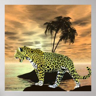 Jaguar on the Prowl Poster