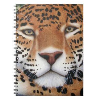 Jaguar Painting Note Book