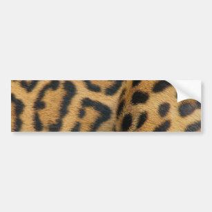 Jaguar Pattern Bumper Sticker