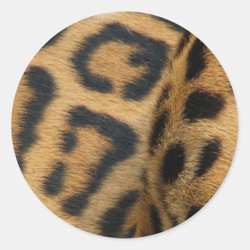 Jaguar Pattern Stickers