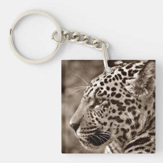 Jaguar Photo Keychain