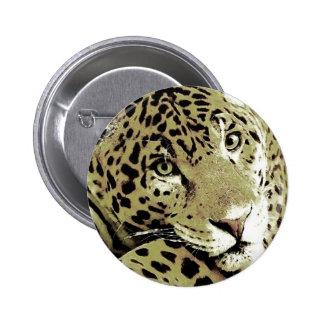 Jaguar Pin Redondo De 2 Pulgadas