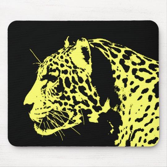 Jaguar Pop Art Mouse Pad