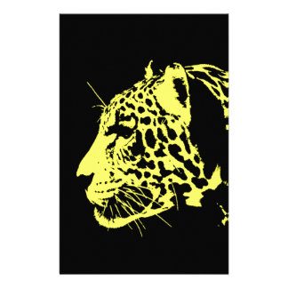 Jaguar Pop Art Stationery