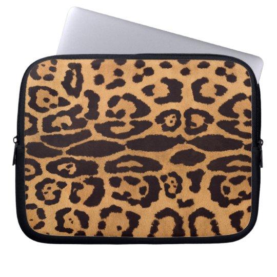 Jaguar Print Computer Sleeve
