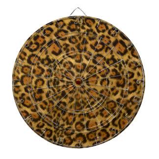 Jaguar Print, Jaguar Fur Pattern, Jaguar Spots Dartboard