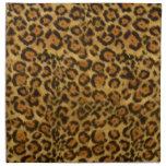 Jaguar Print, Jaguar Fur Pattern, Jaguar Spots Napkins